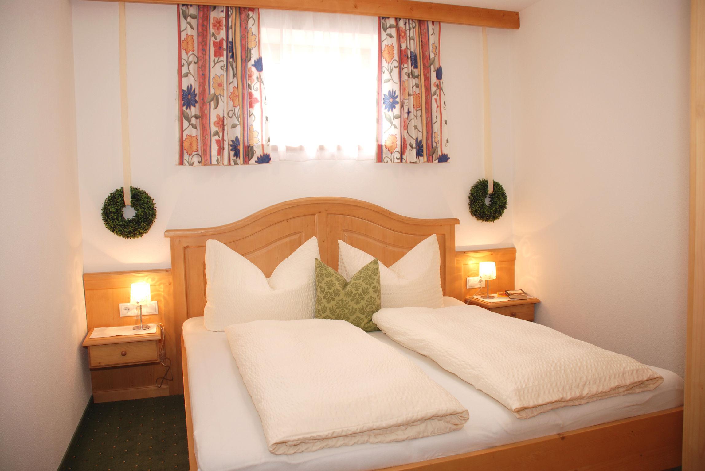 Schlafzimmer im Apart Magdalena