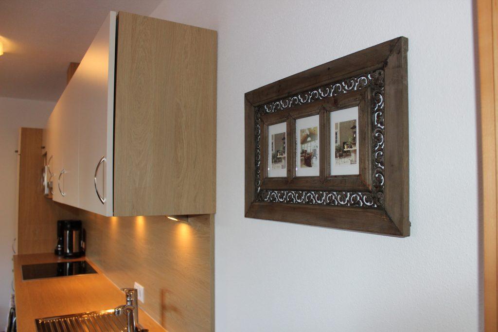 Top ausgestattete Wohnküche im Apart Magdalena