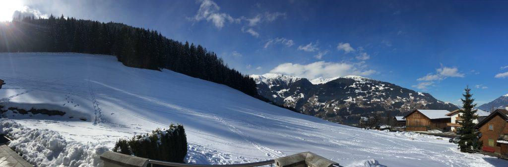 Panoramaaufnahme im Winter