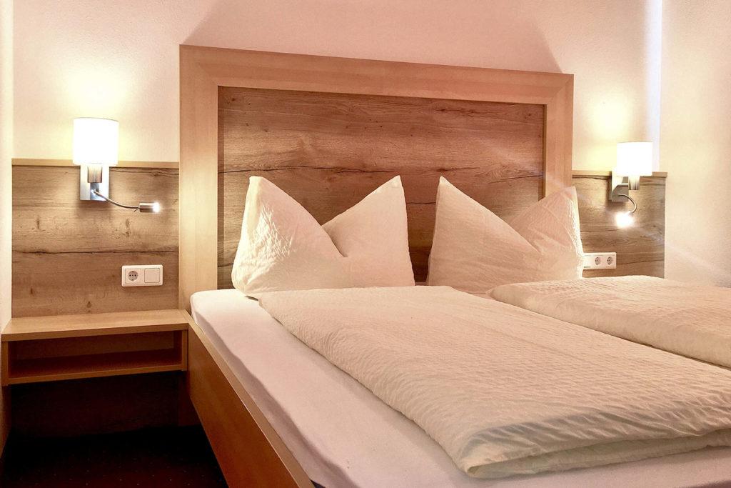 Schlafzimmer mit Schlafsofa